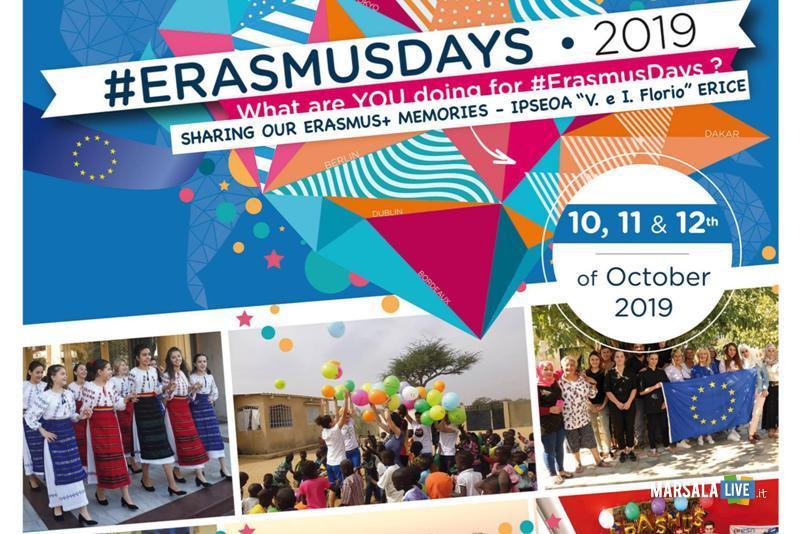 Erasmusdays all'Istituto Alberghiero Erice 2019