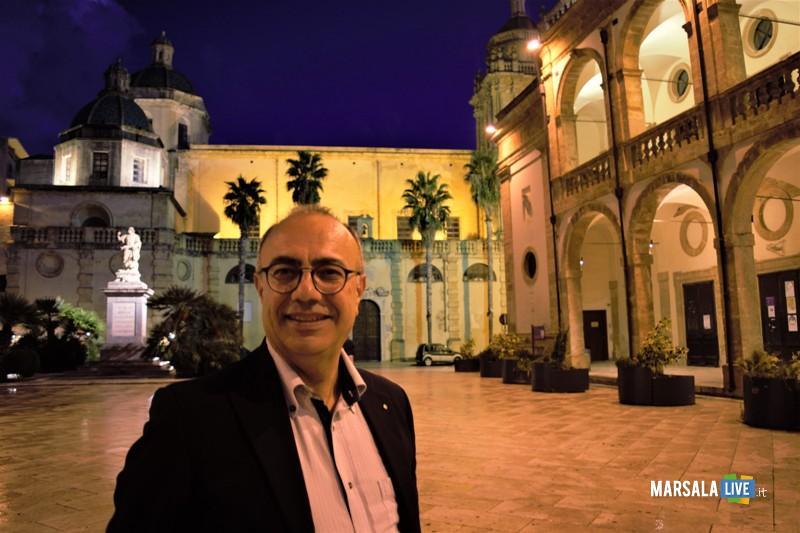 Il Presidente del Distretto Pesca Nino Carlino a Mazara del Vallo