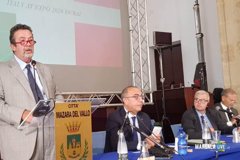 L'intervento di Marcello Fondi al Blue Sea Land di Mazara del Vallo