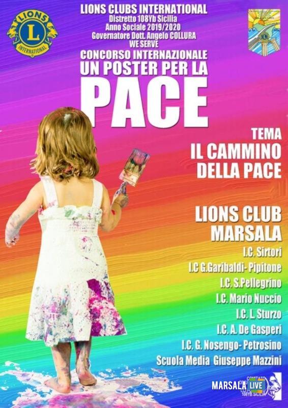 Lions e Scuole per creazione Un Poster per la Pace.