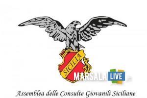 Logo Assemblea regionale consulte giovanili siciliane