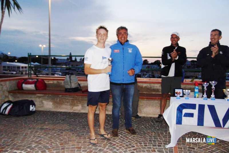 Lorenzo Caputo campione regionale Laser 4.7