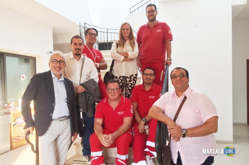 M5S Palmeri e Presidente Croce Rossa Castelvetrano, Campo dei lavoratori stagionali (1)