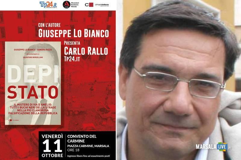 Marsala, Depistato - libro di Giuseppe Lo Bianco e Sandra Rizza