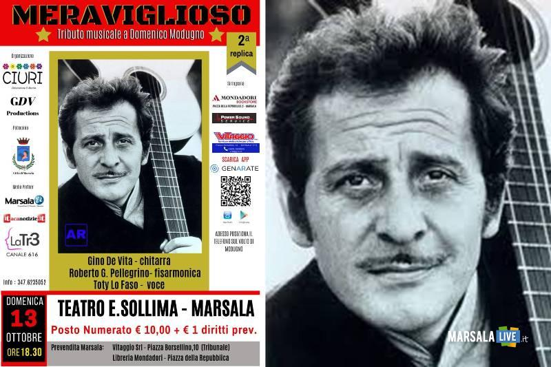 """Meraviglioso"""", tributo a Domenico Modugno, Marsala"""