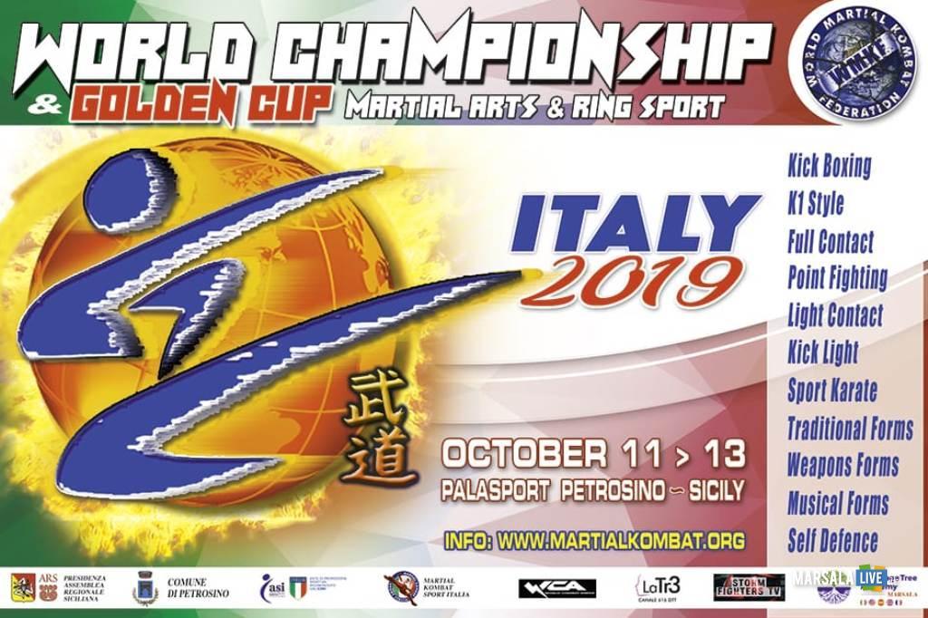 Petrosino, Campionati del Mondo & Golden Cup 2019 Arti Marziali