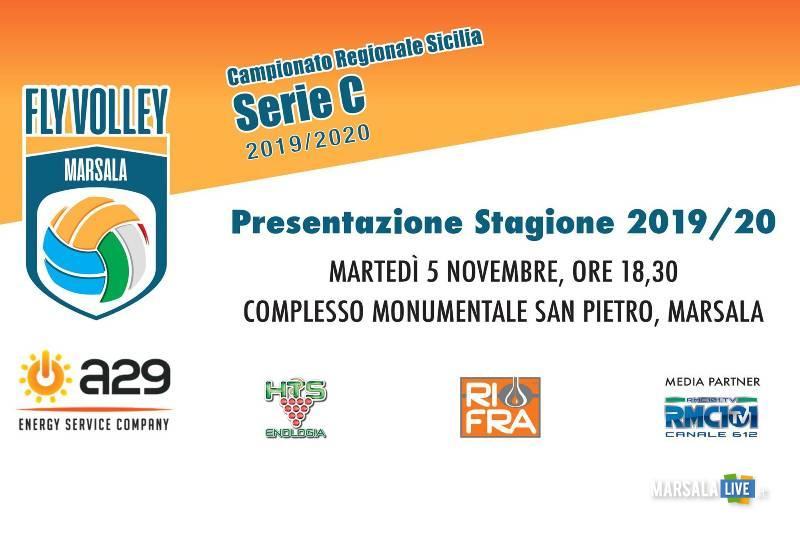 Presentazione dell'A29 Fly Volley Marsala