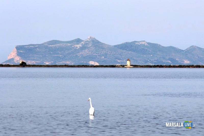 Ricambio acqua laguna Stagnone, Marsala