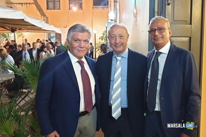 Rosario Leonardi, Alberto Di Girolamo e Emanuele Caldarera