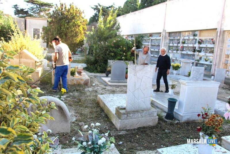 SCERBATURA cimitero marsala, baiata