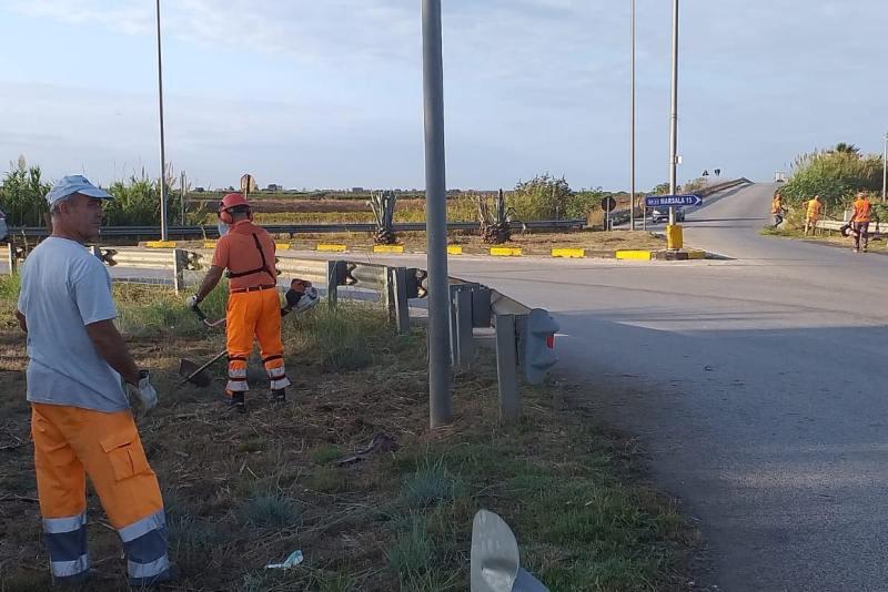 Salvatore Ombra, lavori strada accesso Aeroporto Birgi (2)