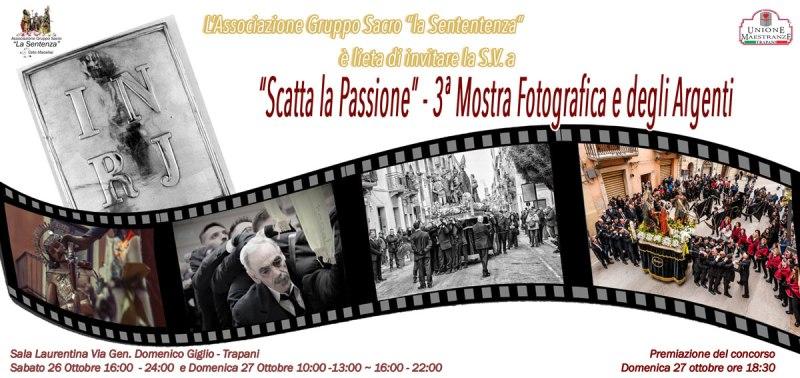 Scatta la Passione, 3 edizione della Mostra Fotografica e degli Argenti (1)