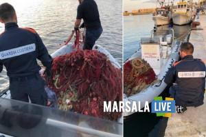 Sequestro reti porto, guardia costiera Marsala
