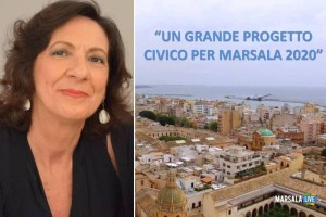 Un grande progetto civico per Marsala 2020, antonella milazzo