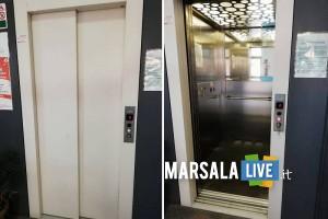 ascensore per disabili, scuola Terrenove-Bambina e plesso Montessori Marsala