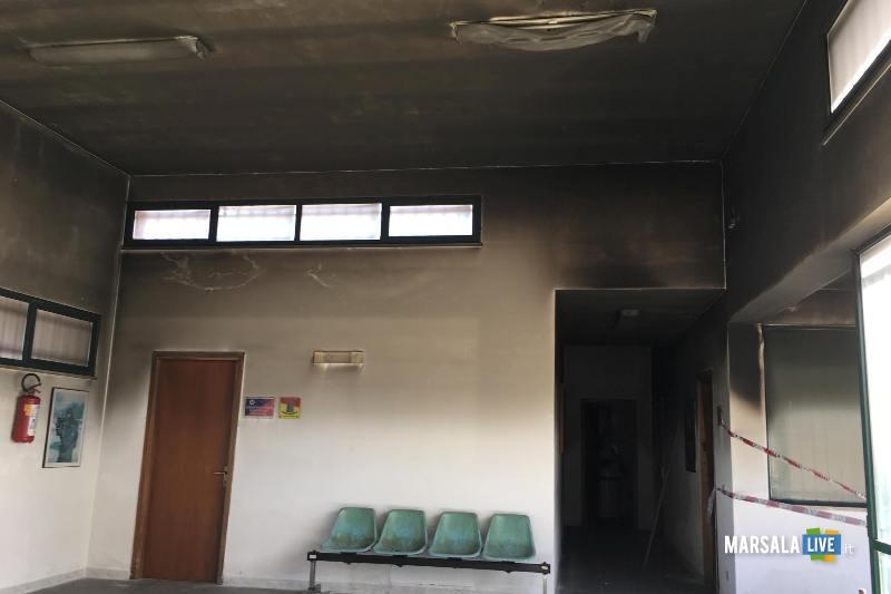 centro diurno petrosino - Incendio (1)