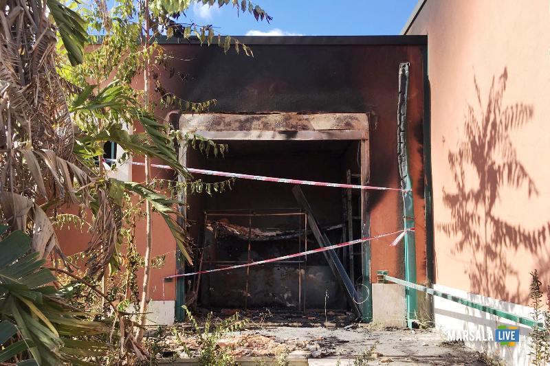 centro diurno petrosino - Incendio (2)