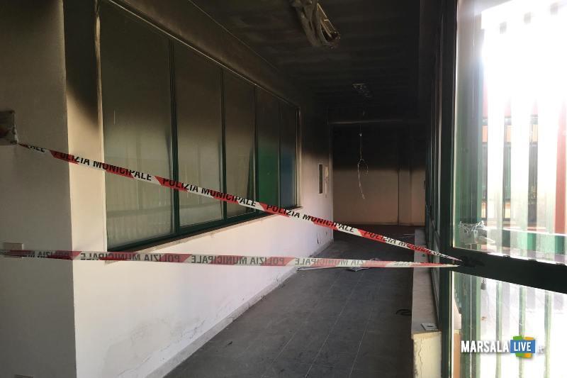 centro diurno petrosino - Incendio (9)