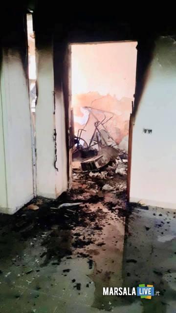 centro diurno petrosino - Incendio