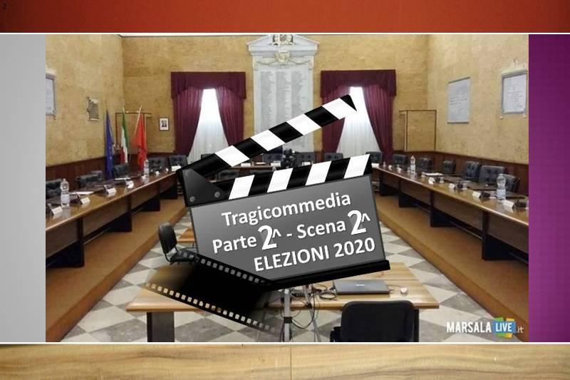 consiglio-comunale-marsala-tragicommedia 2019 2020