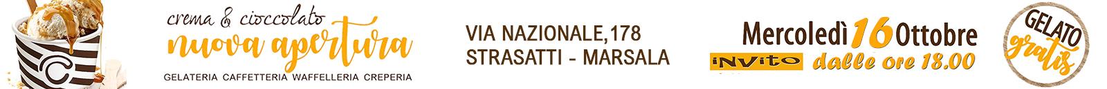 Crema e Cioccolato Inaugurazione Marsala