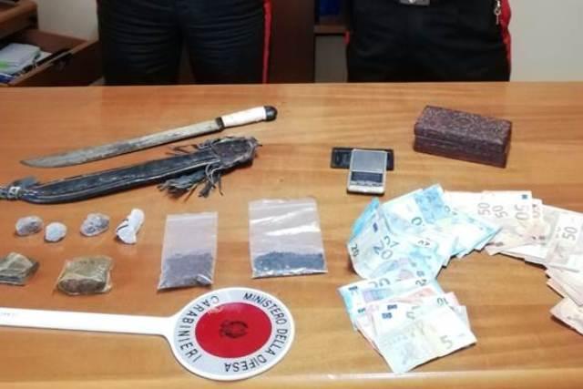 droga custonaci, carabinieri