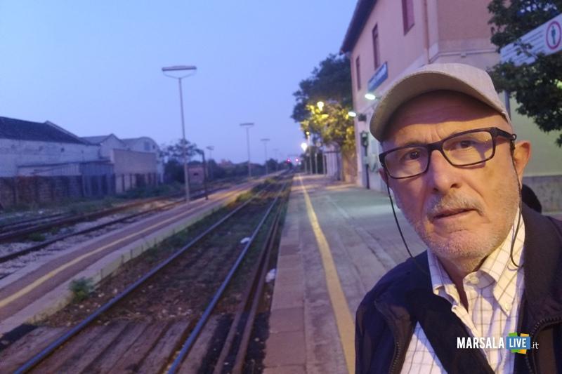 gaspare Barraco, stazione treno, ferrovia