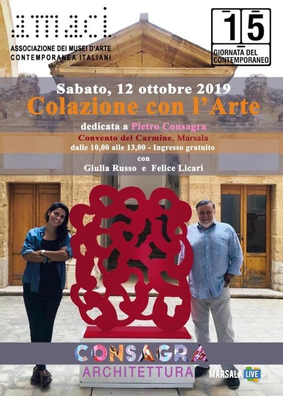 marsala, visita gratuita della mostra di Pietro Consagra