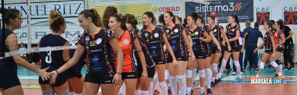 sigel marsala volley - saluto squadre