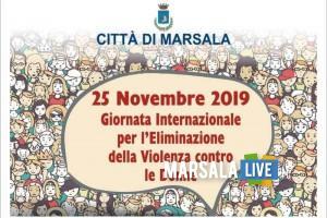 22 novembre contro la violenza sulle donne marsala