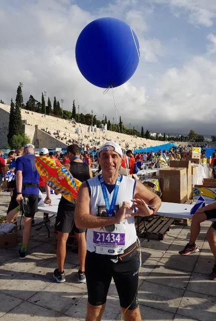 - Atl. - Francesco Laudicina allo stadio olimpico di Atene
