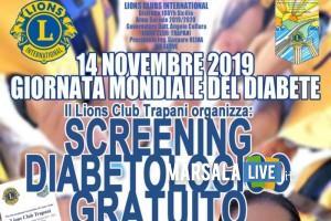 Service Lions Club Trapani, screening diabetologico