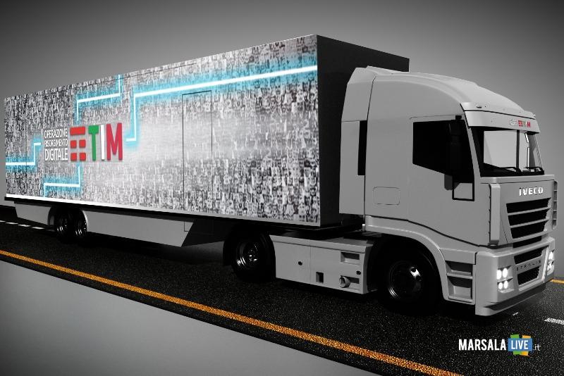TIM_Operazione Risorgimento Digitale_truck