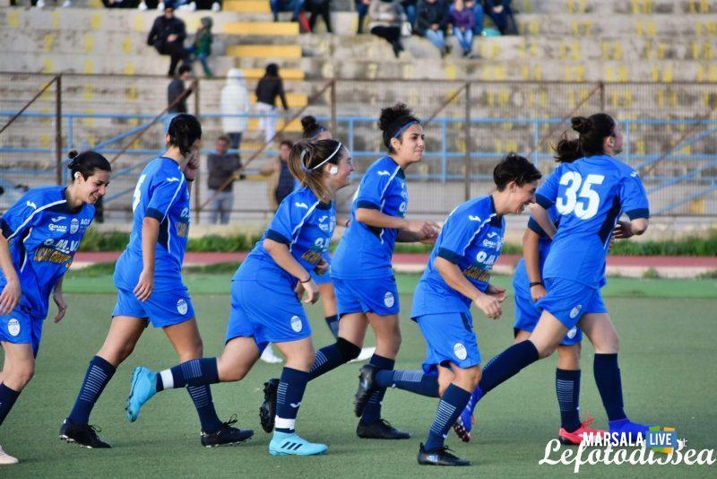 Giusta partenza per il Calcio Femminile Marsala che quest'anno festeggerà il ventennale di attività - Marsala Live