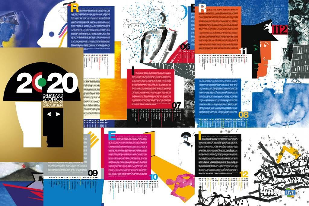 calendario carabinieri 2020