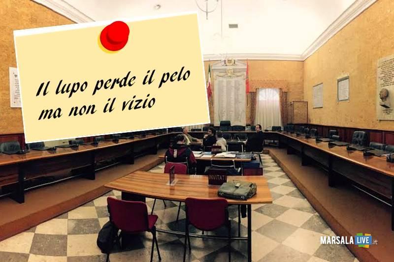 consiglio comunale marsala, pelo, vizio