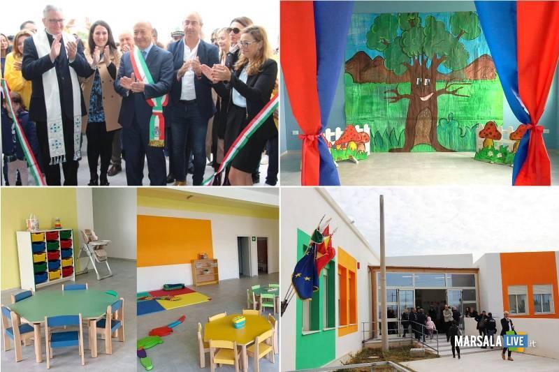 inaugurazione asilo nido contrada Sant_Anna Marsala