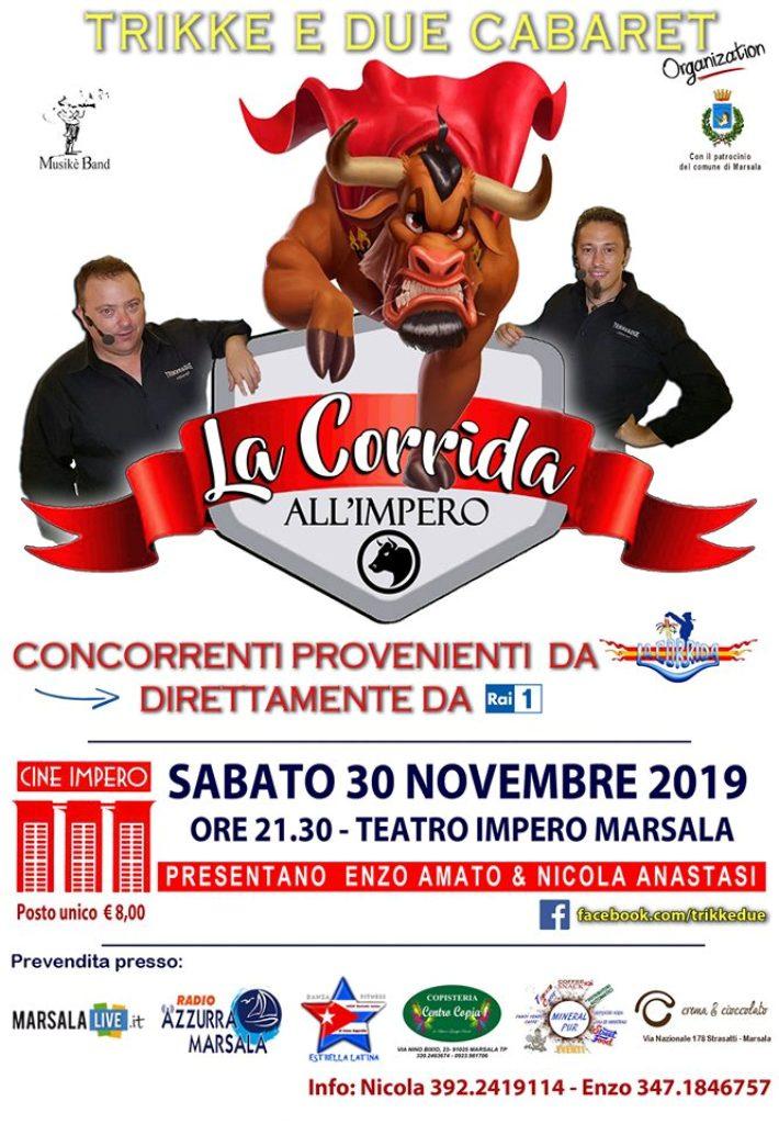 la corrida all_impero novembre 2019 - marsala