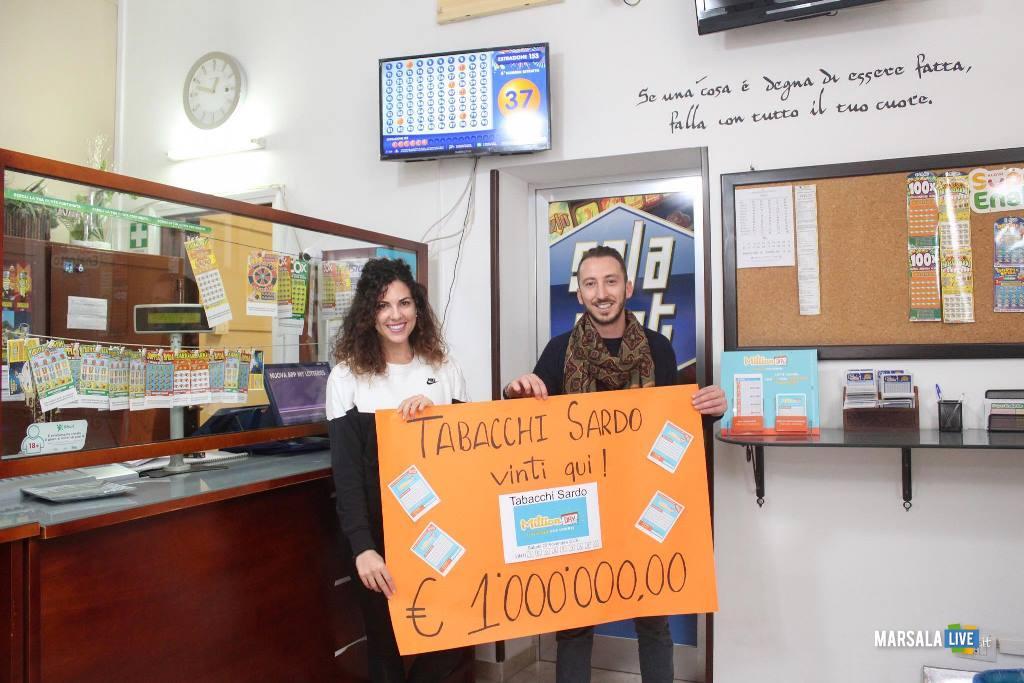 milione di euro schedina vincente giocata alla Tabaccheria Sardo