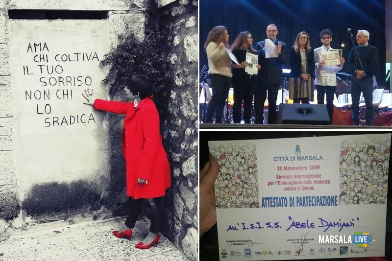 Abele Damiani dMarsala, V Concorso fotografico Rompiamo il silenzio