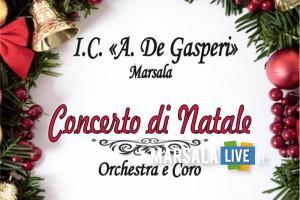 Alcide De Gasperi Strasatti, Concerto di Natale a Marsala (1)