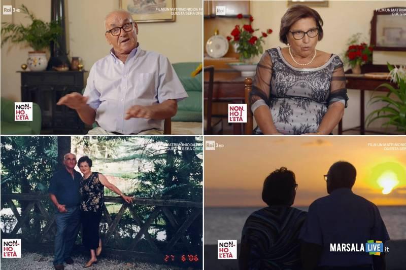 Biagio Valenti e Elisabetta Patti, Non ho l'età Rai3 - Petrosino