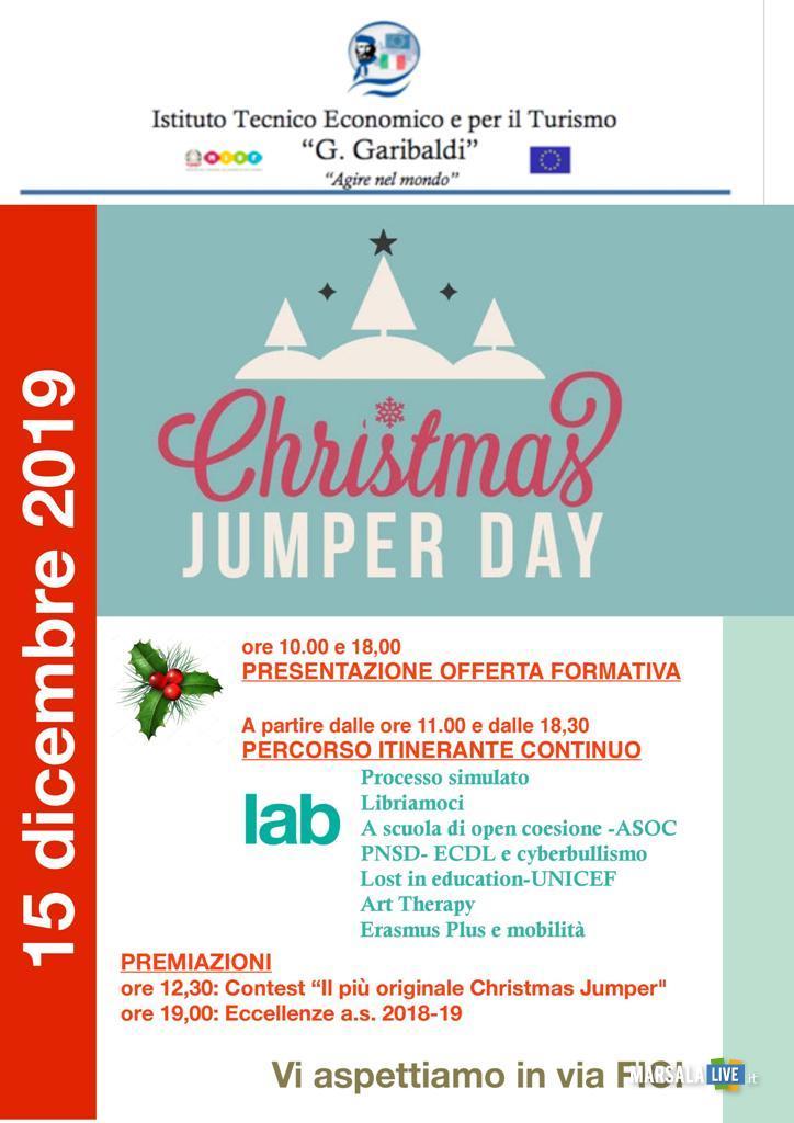 Christmas Jumper Day Itet G.Garibaldi Marsala (2)