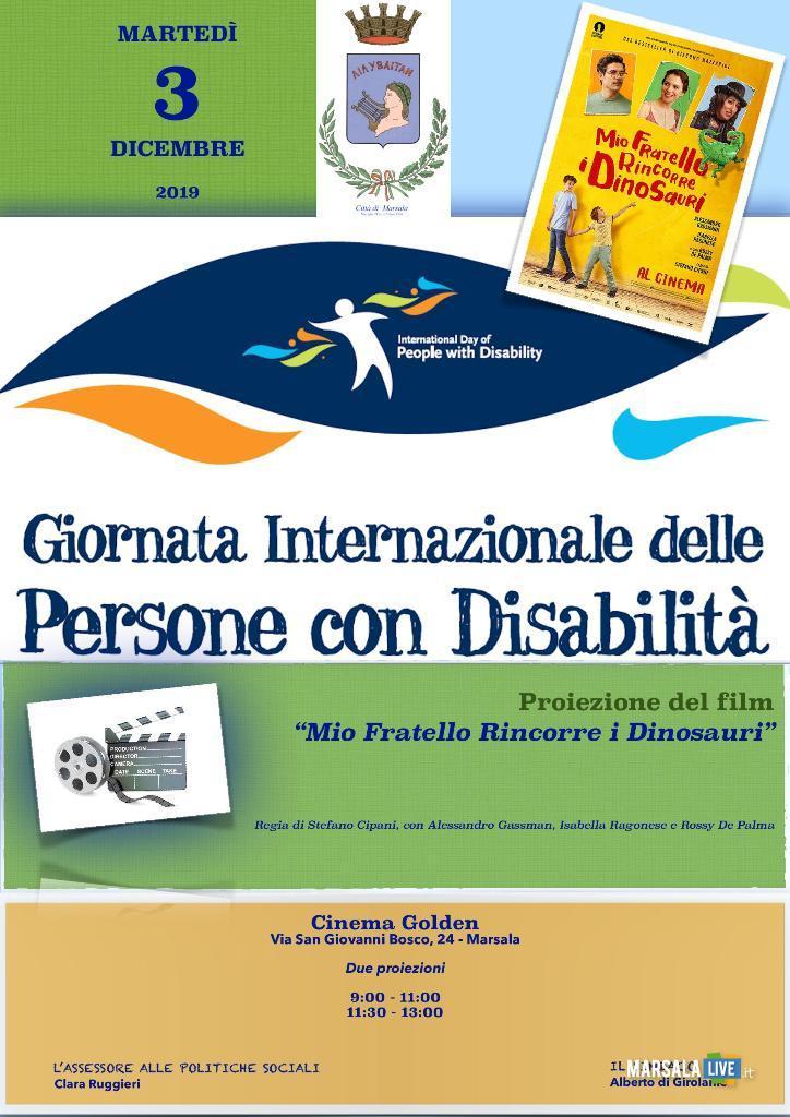 Giornata Internazionale delle Persone con Disabilità, marsala