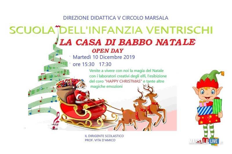 La Casa di Babbo Natale della Scuola Infanzia Ventrischi Montenero