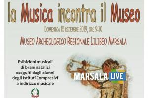 Locandina La musica incontra il Museo, marsala