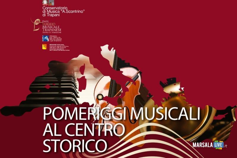 Locandina Pomeriggi musicali al centro storico
