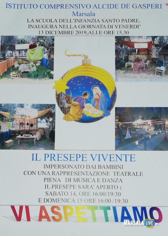 Marsala Presepe Vivente scuola infanzia Santo Padre delle Perriere (1)