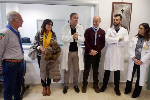 Ospedale Abele Ajello Mazara, opera Gioia e Dolore, reparto radioterapia (5)