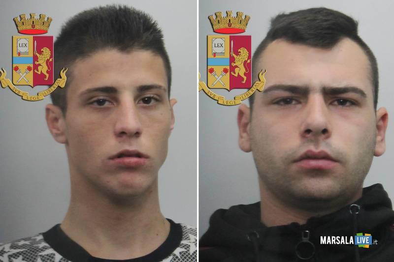 Sergio Passalacqua e Sebastiano Papa - Polizia, Trapani